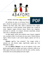 BONECAS  ABAYOMI