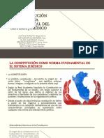 LA CONSTITUCIÓN COMO NORMA FUNDAMENTAL DEL SISTEMA JURÍDICO (1)
