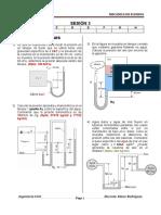 Sesión 3 - MECFLU - Estática de los fluidos - Presión - ejercicios