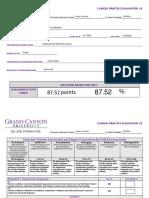 clinical evaluation 2 grade