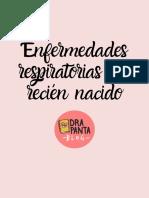 ENFERMEDADES RESPIRATORIA DEL RECIEN NACIDO