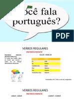 Preterito Perfeito Portugues-Verbosr