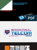 PRESENTACION TELCOM 2013