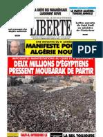 LE COMMERCE INFORMEL_ALGERIE (Liberté 02.02.11 'tabla',taxes...etc)