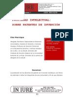 Ensayo de Patente de Invención en la República Argentina.pdf