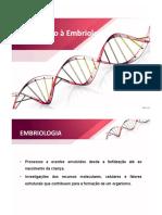 Introdução à Embriologia (1)