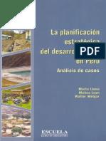 La planificación estratégica del desarrollo local en Perú. Análisis de casos - Aportes para el Desarrollo N° 5