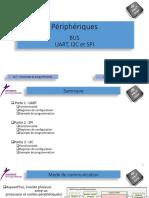 Périphériques. BUS UART, I2C et SPI