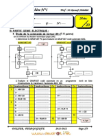 Devoir de Synthèse N°1 - Génie électrique - Bac Technique (2011-2012) Mr raouafi abdallah