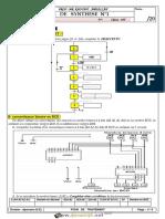 Devoir de Synthèse N°1 - Génie électrique Four de Traitement - Bac Technique (2015-2016) Mr Abdallah Raouafi