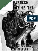 Advanced Knights All Mind Judges rpg