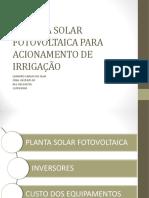 SISTEMA FOTOVOLTALTAICO ACIONAMENTO DE MOTOR IRRIGAÇÃO.pdf