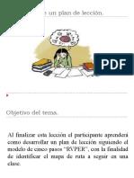 TEMA IV PLAN DE LECCIÒN