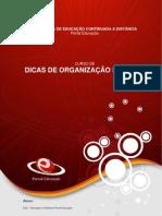 CURSO DE ORGANIZAÇÃO PESSOAL