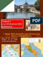 Unidad 5 La civilizacion romana.ppt