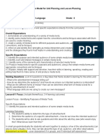 unit planning for media literacy -gr