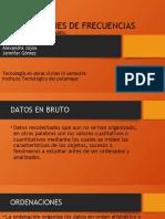 4. DISTRIBUCIONES DE FECUENCIA