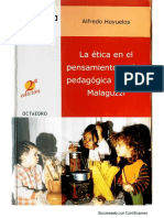 Estética en el pensamiento y obra pedagógica de Loris Malaguzzi