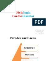 Fisiología Cardiovascular RHB CP 2017