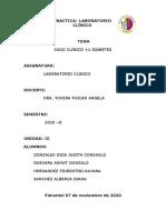 CASO CLINICO DIABETES y TIROIDES