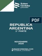 Informe Zuban Córdoba y Asociados.