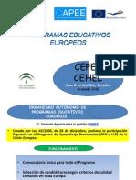 Presentación Proyectos Europeos. Juan Cristóbal. Granada 2010