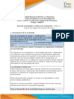Guia de actividades y Rúbrica de evaluación - Unidad 4 - Fase 5 - Valorar los riesgos del proyecto del grupo. (1)