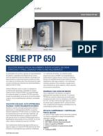 ficha tecnica PTP650 en español