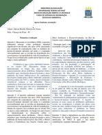 Avaliação de Educação Ambiental - Jakson Ricelly Moreira de Sousa