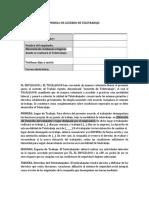 Modelo contrato de Teletrabajo sector privado (1)