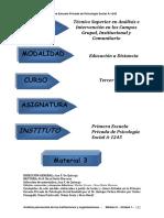 Analisis psicosocial de las instituciones y organizaciones   3