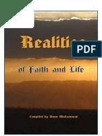 Realities of faith and life - umm muhammad
