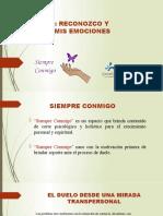 EL DUELO- RECONOZCO Y PROCESO MIS EMOCIONES