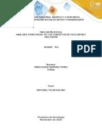 ANÁLISIS TERRITORIAL DE LOS CONCEPTOS DE EXCLUSIÓN E INCLUSIÓN