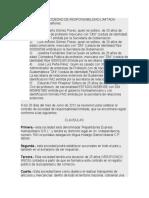 CONTRATO DE SOCIDEDAD DE RESPONSABILIDAD LIMITADA