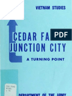 Vietnam Studies Cedar Falls Junction City a Turning Point