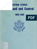 Vietnam Studies Command and Control, 1950-1969