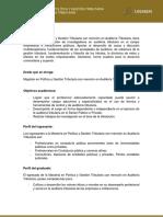 Maestría en Política y Gestión Tributaria con mención en Auditoría Tributaria.pdf