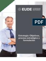 Estrategia Objetivos Proceso Estratégico y Formulación