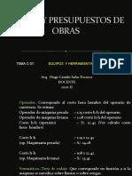 CLASES DE COSTOS C-07 - 2020-II