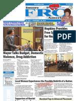 Baltimore Afro-American Newspaper, February 12, 2011