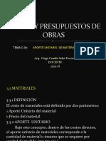 CLASES DE COSTOS C-04 - 2020-II