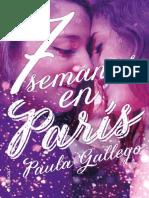 7 semanas en Paris  -. Paula Gallego