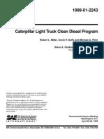 Miller1999_Caterpillar light truck clean diesel program_SAE 1999-01-2243