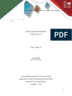 Tarea 1- Especificidad de la gerencia pública, política y organizaciones públicas.docx