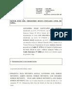 ANOTACION DEMANDA ALEJANDRA HIJAR EXP 4326-19 36JCLIMA