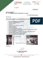 140917 Ficha Técnica General Ascensor Cascada