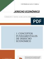 DERECHO ECONOMICO ALFA Y OMEGA
