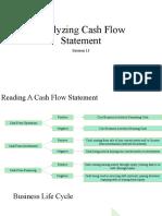 (S-13) Analyzing Cash Flow Statement