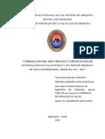 comparac area tematica y metodologia tesis medicina Mluquhc1